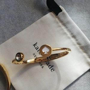 Kate spade spot the spade open cuff bracelet